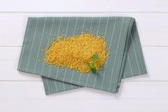 Dry wheat bulgur Stock Photography