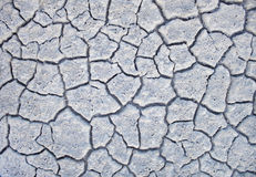 Dry white soil Royalty Free Stock Images