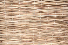 Dry wicker surface Royalty Free Stock Photography
