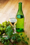 Dry wine. Still life. Royalty Free Stock Images