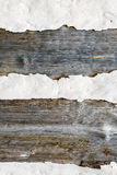 Dry wood and clay texture Royalty Free Stock Photo