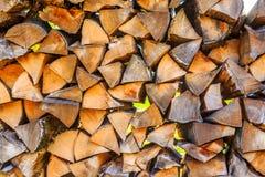 Dry woodpile Stock Photo