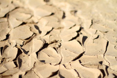 Dry peeled skin soil Royalty Free Stock Images