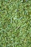 Dry yerba mate leaves stock photo