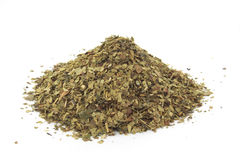 Dry yerba mate leaves, traditional drink of Argent Stock Photos