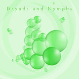 Dryads and Nymphs Bubbles Stock Photos