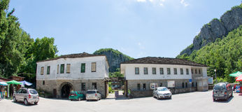 Dryanovo修道院在保加利亚 库存图片