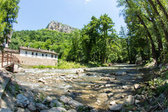 Dryanovo Dryanovo Monastery and the river in Bulgaria Stock Image