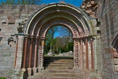 Dryburgh Abbey Fotografering för Bildbyråer