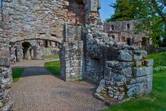 Dryburgh Abbey Arkivfoto