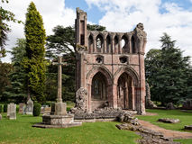 Dryburgh Abbey, Scottish Borders Stock Photos