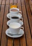 Dryck för frukost Arkivfoto