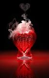 dryck för 9 förälskelse Fotografering för Bildbyråer