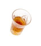 dryckexponeringsglas Arkivfoto