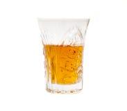 dryckexponeringsglas Royaltyfria Foton