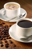 dryckkaffe Fotografering för Bildbyråer
