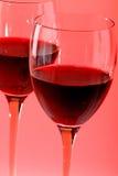 Dryckrött vin Royaltyfri Bild