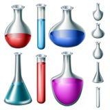 Dryckuppsättning stock illustrationer