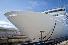 Drydock Cruise Liner Royalty Free Stock Photo