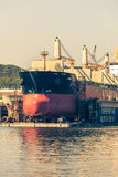 Drydock in Gdynia Shipyard on 13 Juny 2015, Poland Stock Photography
