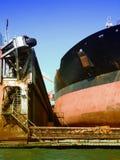 Drydock at gothenburg 08 Royalty Free Stock Images
