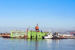 Drydock Royalty Free Stock Photos