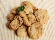 Dryed Sojabohnenölfleisch stockfotos