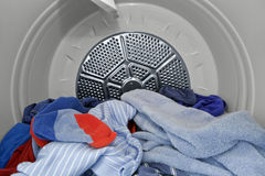 In the Dryer. stock image
