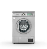 Dryer machine on a white background. 3d illustration Stock Image