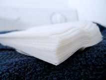 Dryer sheets Stock Photo