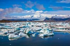 Dryftowego lodu lodu laguna Zdjęcie Royalty Free