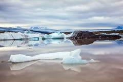 Dryftowego lodu lodu laguna - Jokulsarlon Obrazy Stock