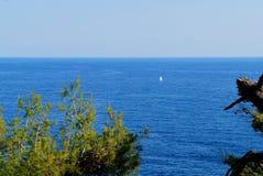 dryftowego morza Śródziemnego połowów tuńczyka morski netto Fotografia Stock
