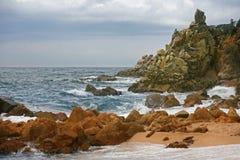 dryftowego morza Śródziemnego połowów tuńczyka morski netto Hiszpania Zdjęcie Stock