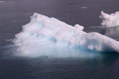 Dryftowy lód arktyczny Greenland Fotografia Stock