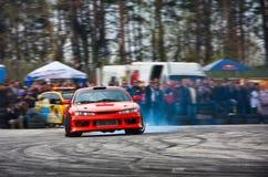 dryftowy racecar fotografia stock