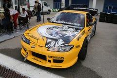 dryftowy samochód Zdjęcia Stock
