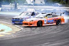 dryftowy wyścigi Zdjęcie Royalty Free