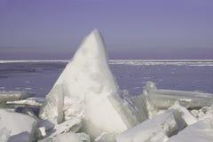 dryfujący lód Zdjęcie Stock