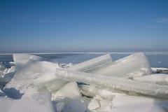 dryfujący lód Zdjęcie Royalty Free