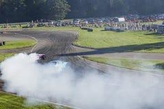 Dryfujący samochody Zdjęcia Stock