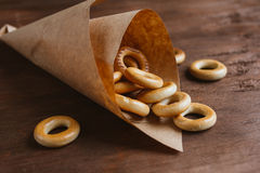 Drying bagels Royalty Free Stock Photos