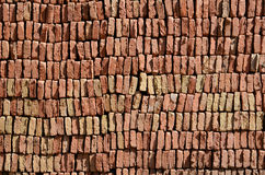 Drying bricks Stock Images