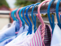 Drying cloth and swaddle Stock Image