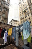 Drying clothes Royalty Free Stock Image