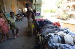 Drying Clothing Stock Photo