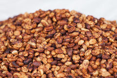 Drying coffee beans Stock Photo