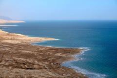 Drying Dead Sea coast. Stock Photos