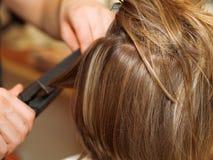 Drying Hair Stock Image