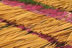 Drying incense Royalty Free Stock Image